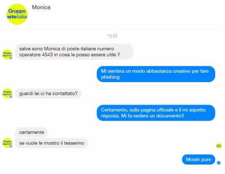Assistenza online: attenzione al phishing su Facebook