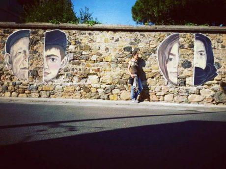 Inaugurazione Murale di Daniela Frongia Jana'S