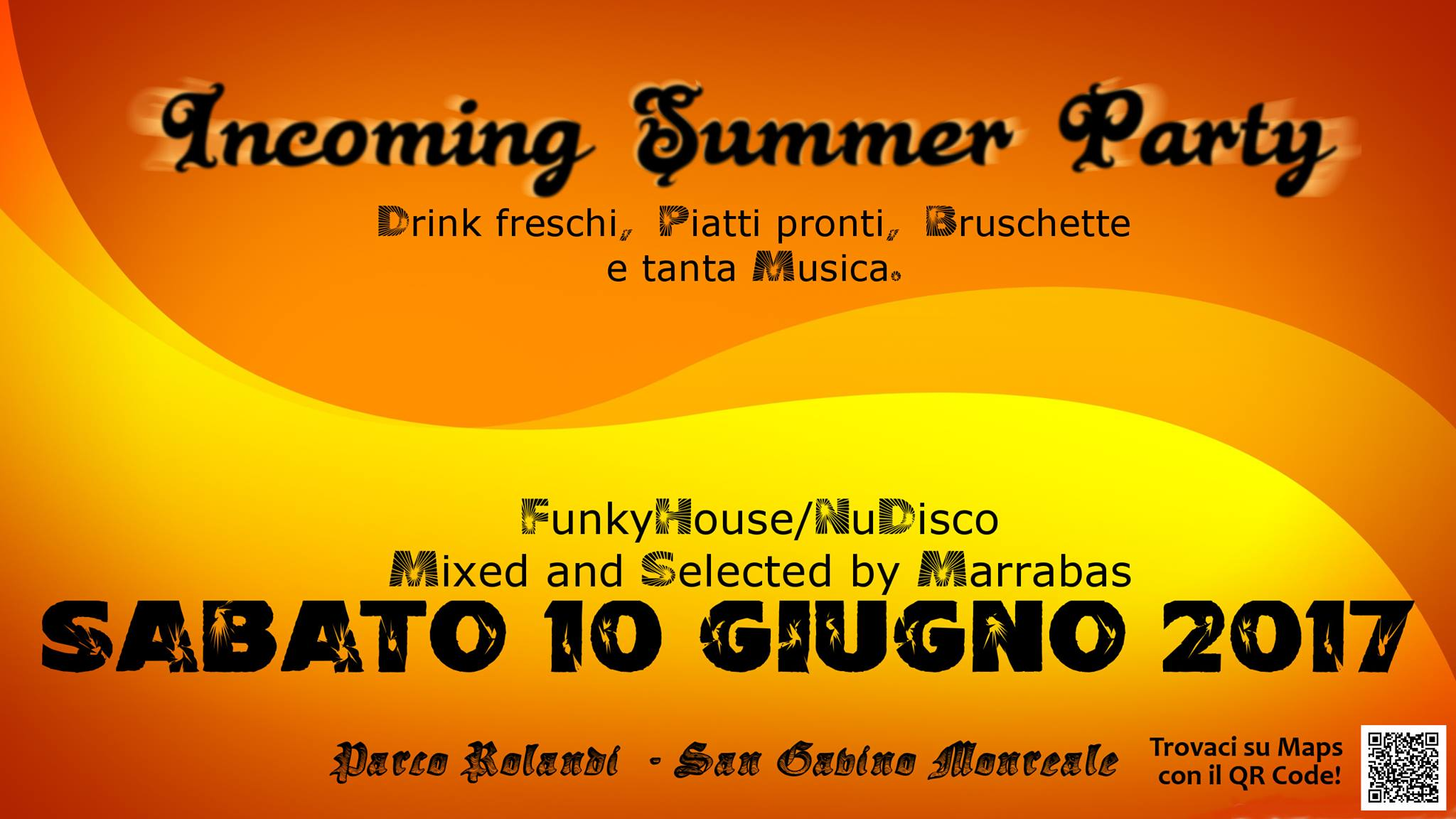 Incoming Summer Party
