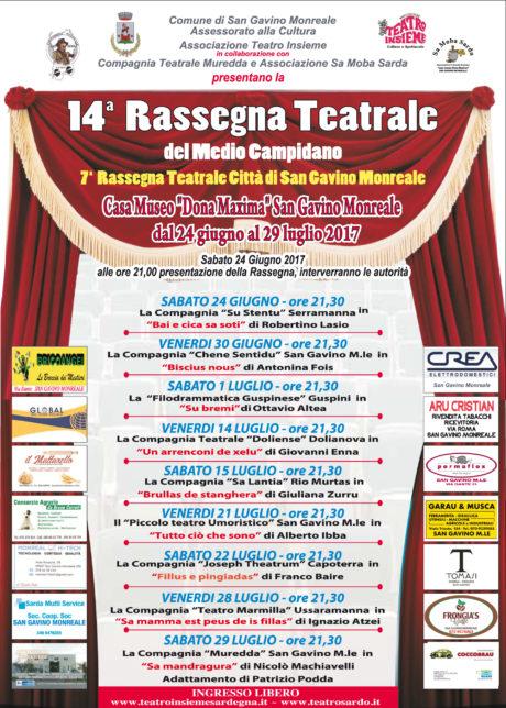 Settima Rassegna Teatrale Città di San Gavino