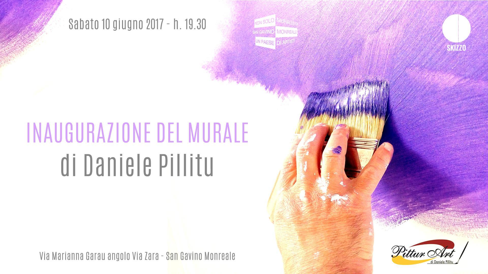 Inaugurazione del Murale di Daniele Pillitu
