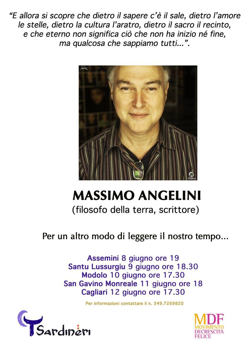 Massimo Angelini in tour per la Sardegna