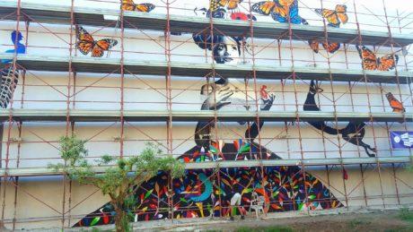 Street Art con i bambini e... Giorgio Casu