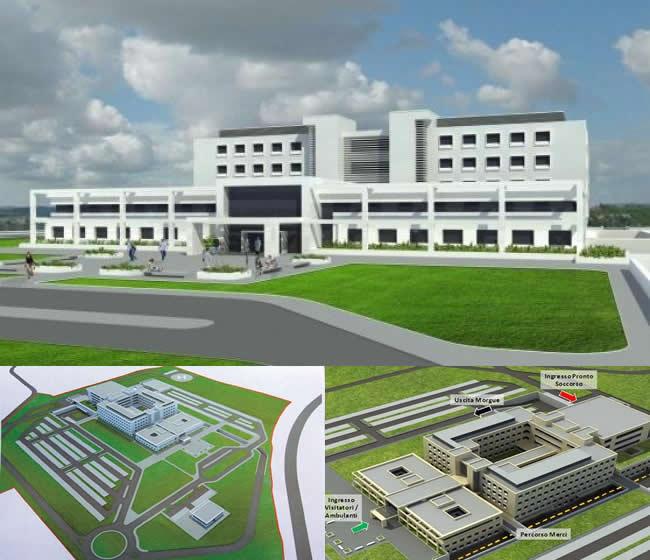 Nuovo Ospedale, il Consiglio di Stato sblocca l'appalto: via libera ai lavori