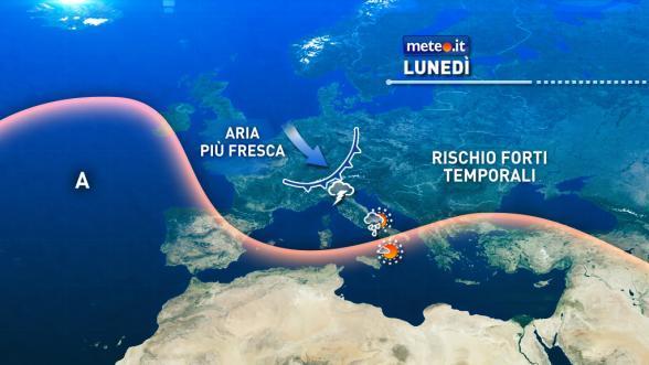 Dopo l'allerta meteo, arriva il maestrale: il caldo lascia la Sardegna
