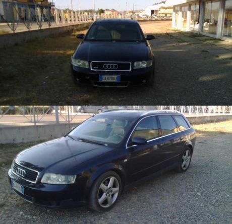 Audi rubata, appello su Facebook per ritrovarla