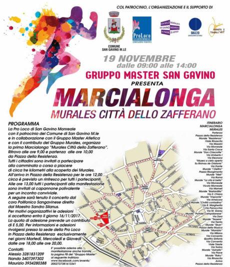 """Marcialonga """"Murales Città dello Zafferano"""""""