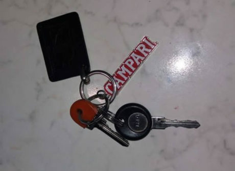 Via Nuraci, trovato mazzo di chiavi