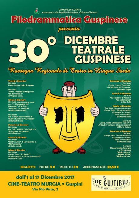 30° edizione del Dicembre Teatrale Guspinese
