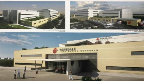 Presentazione pubblica del progetto del nuovo ospedale del Medio Campidano