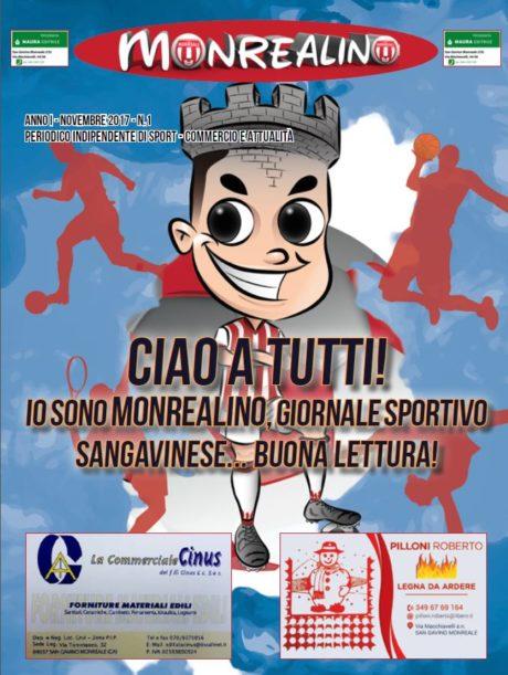 "Arriva ""Monrealino"", mensile dedicato allo sport sangavinese"