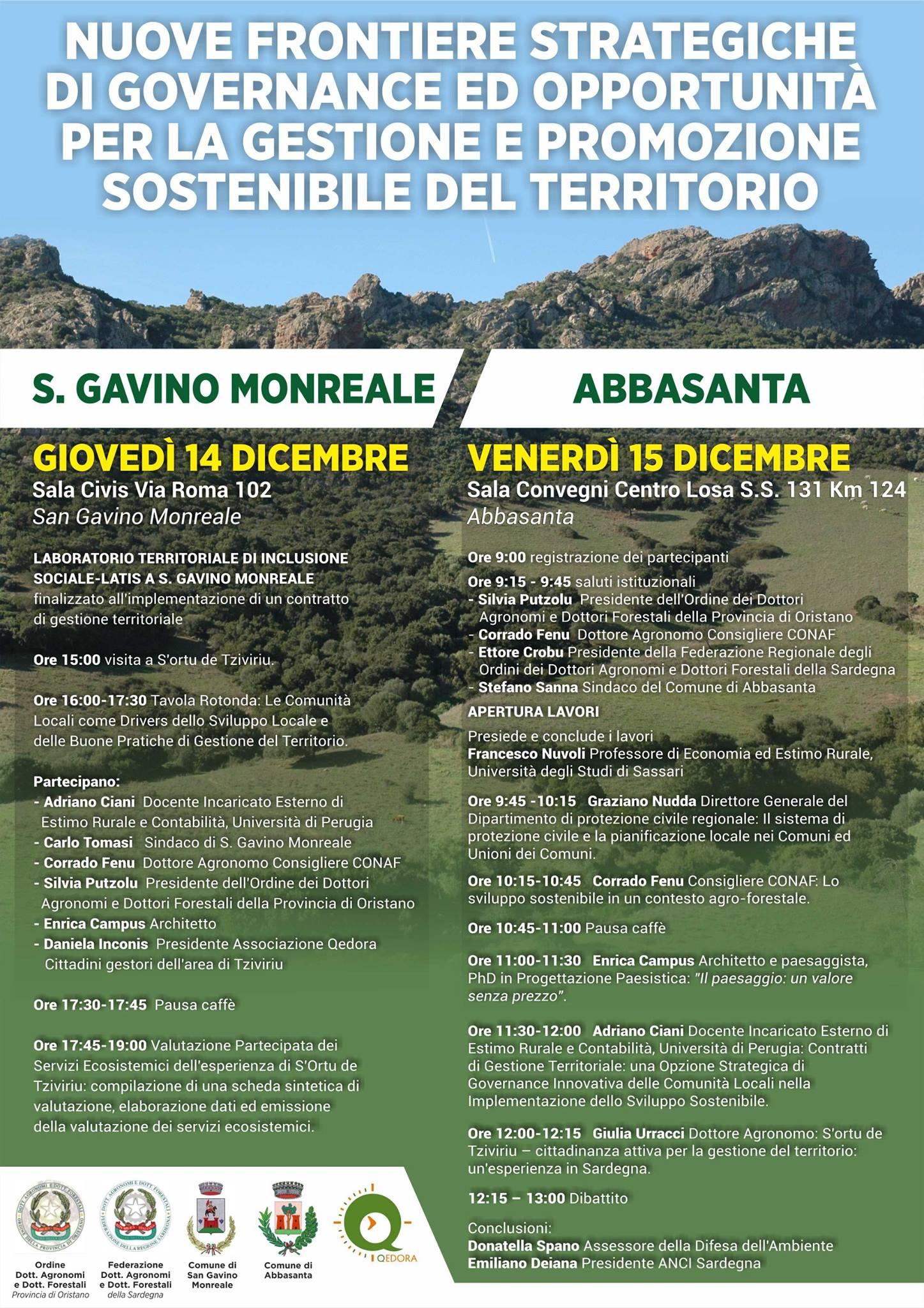 Promozione sostenibile del territorio, un convegno a San Gavino