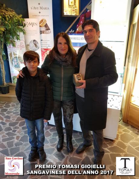 Marco Sebis e famiglia