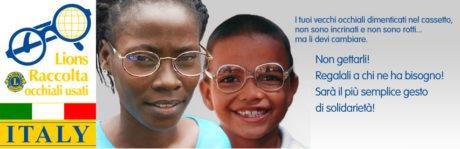 A Natale regala i tuoi occhiali usati ai più bisognosi!