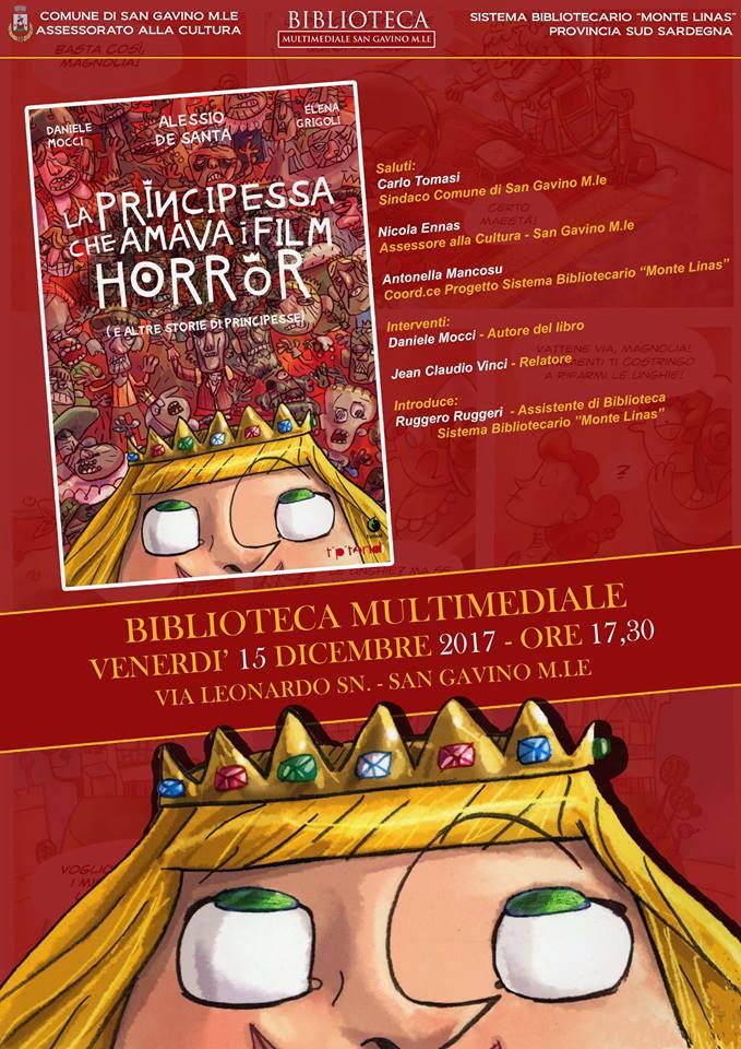 """""""La principessa che amava i film horror"""""""