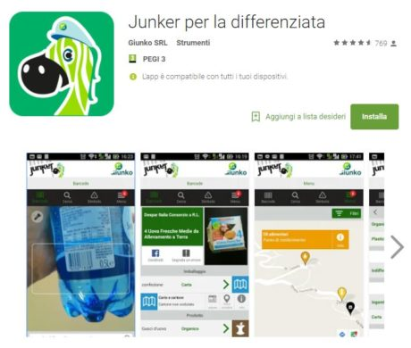 Un'app per la pulizia del paese
