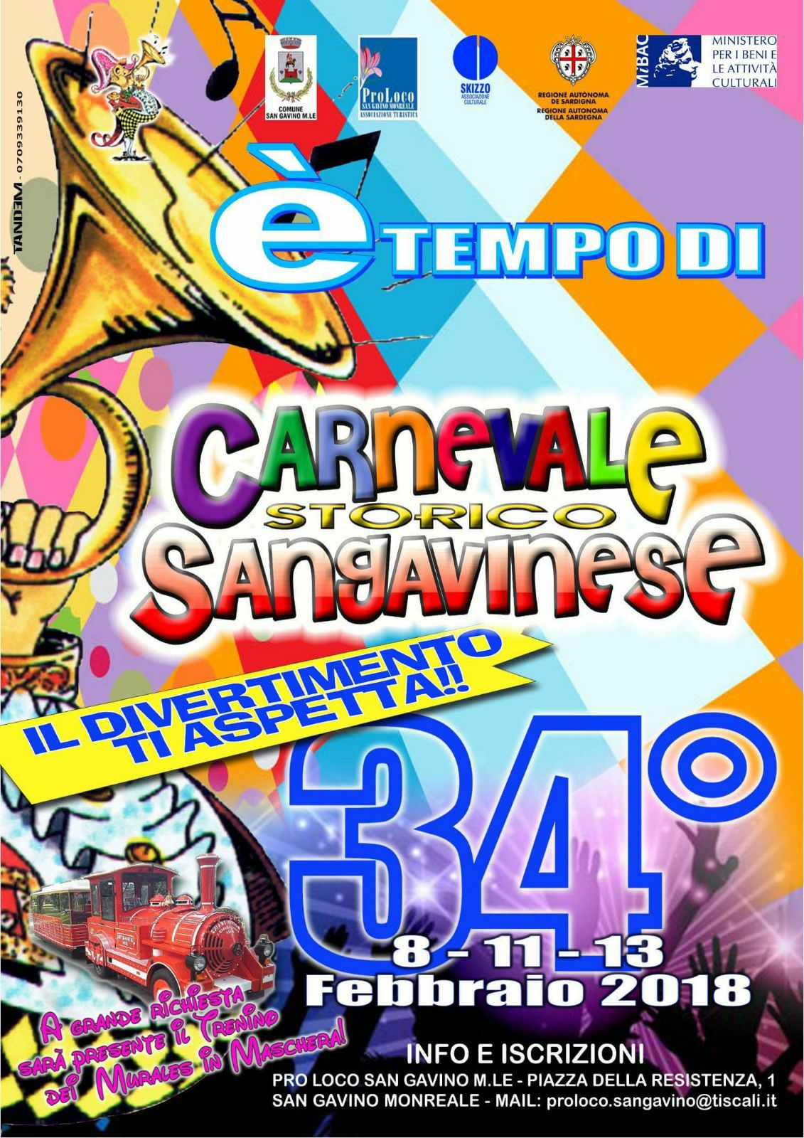 34° Carnevale Sangavinese