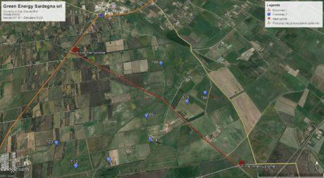 Interruzione della viabilità strada Enas, ingresso da SP 61