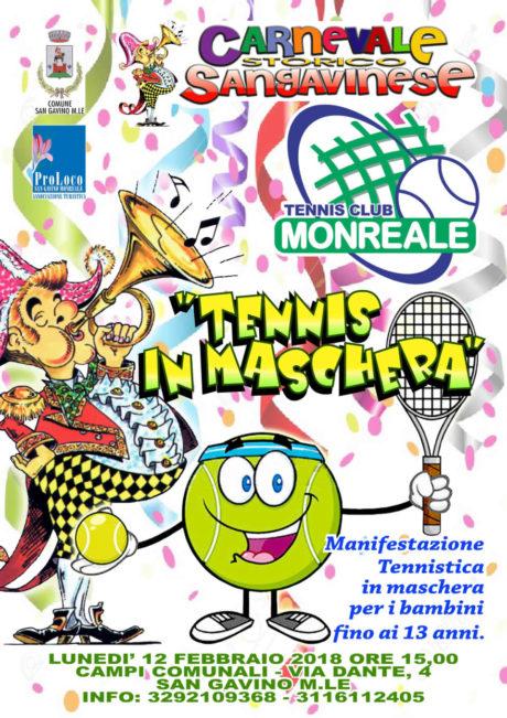 Tennis in Maschera