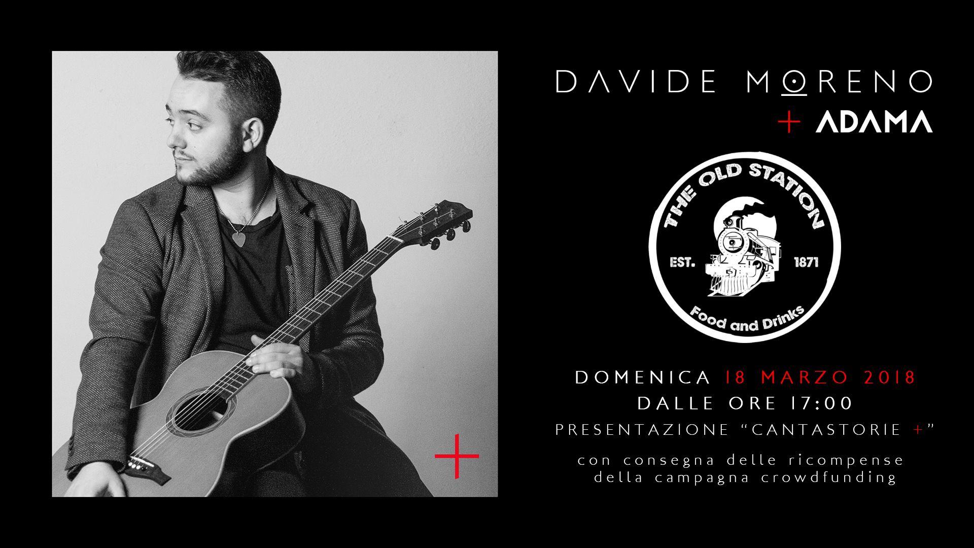 """Davide Moreno & Adamà in concerto - presentazione """"Cantastorie+"""""""