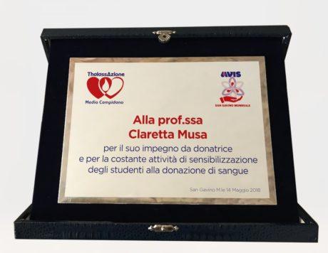 AVIS al Liceo Scientifico, sensibilizzazione e donazioni