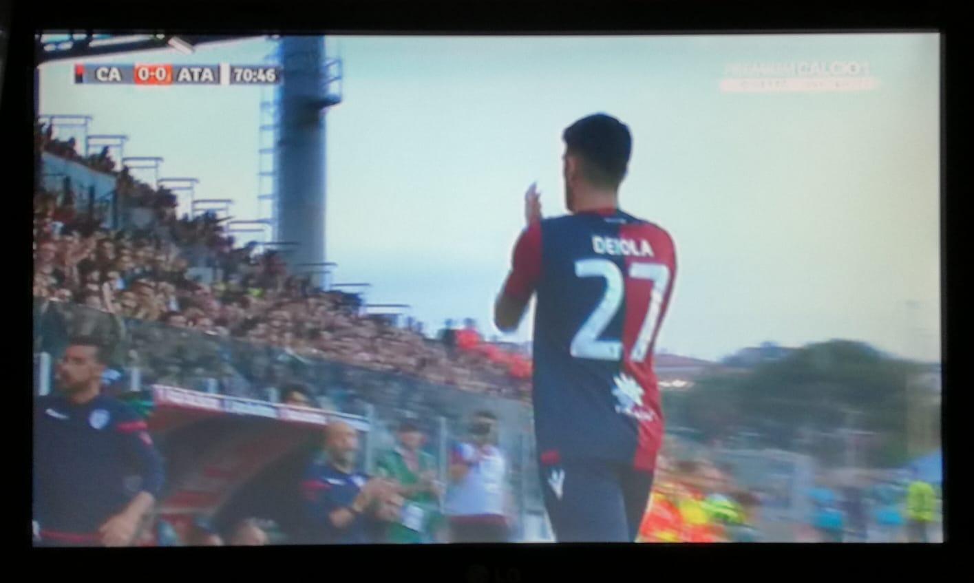 Il Cagliari è salvo, grande festa alla Sardegna Arena