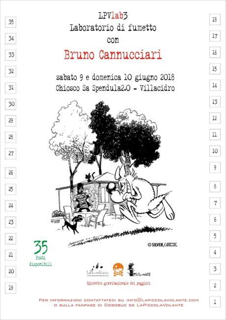 """Villacidro, appuntamenti """"a fumetti"""" con il maestro Bruno Cannucciari"""
