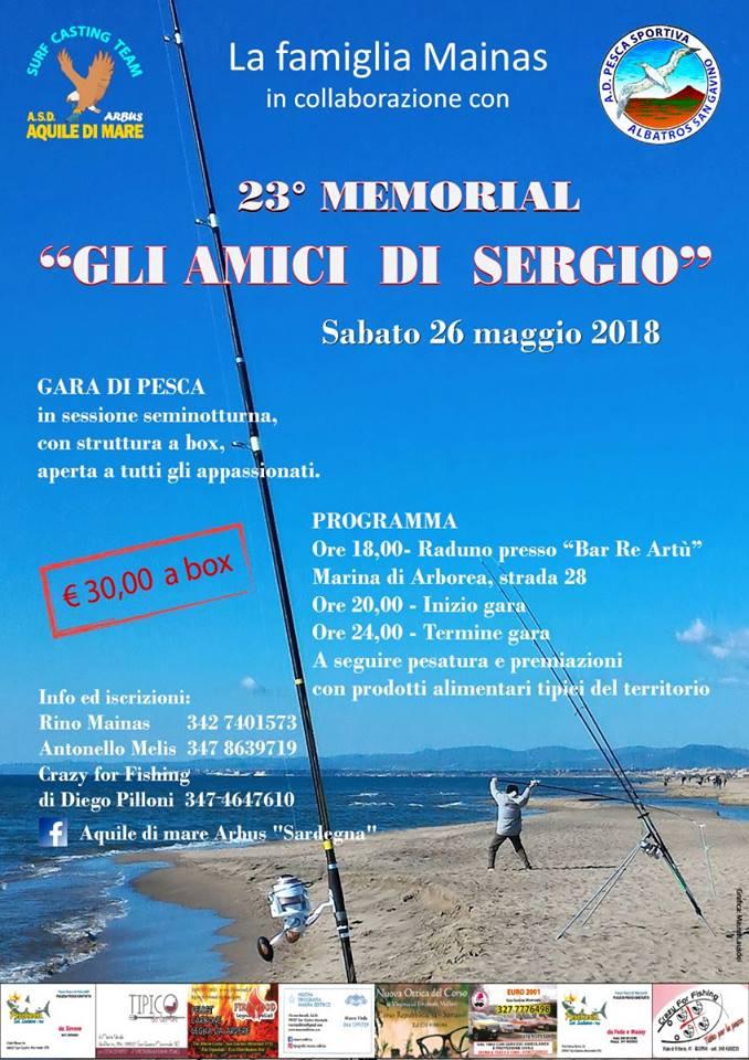 """23° Memorial """"Gli Amici di Sergio"""""""