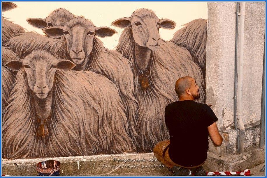 Inaugurazione Murale di Mauro Patta