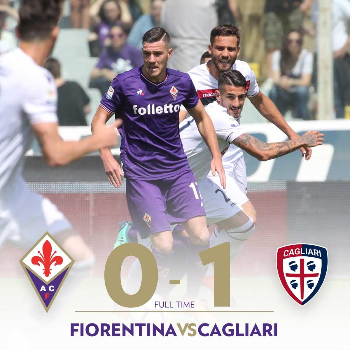 Il Cagliari si risolleva al Franchi, Fiorentina battuta grazie al gol di Pavoletti