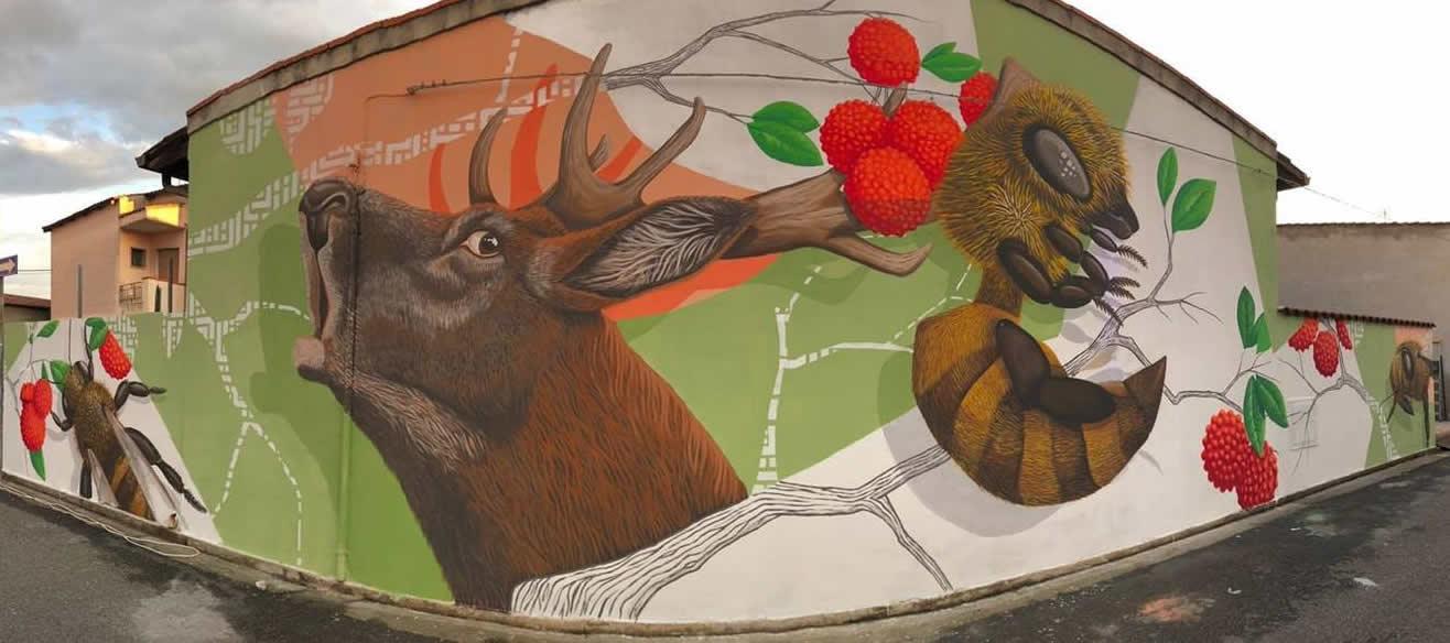 Murale di Alessio Bolognesi
