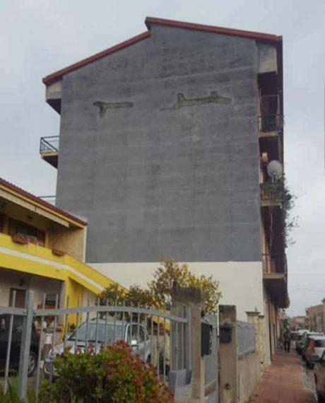 San Gavino, raccolta fondi per un murale da record