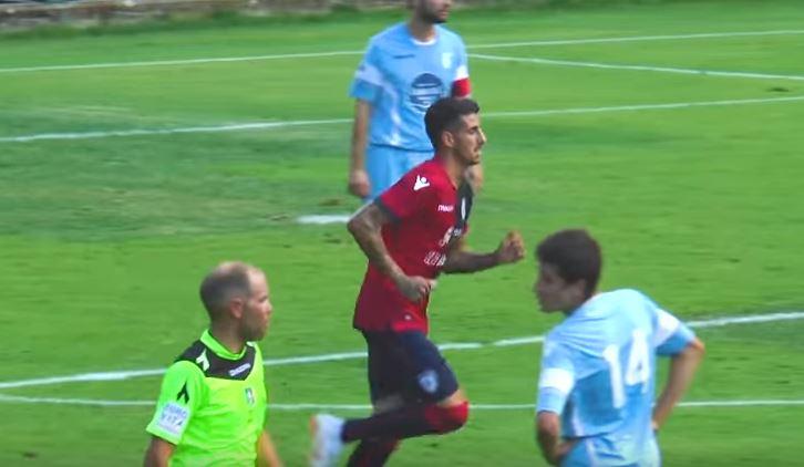 Cagliari - Rotaliana: 9-0, in gol anche Deiola