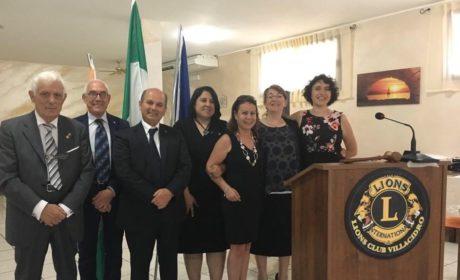 Lions Club Villacidro-Medio Campidano, Franco Gioi è il nuovo presidente