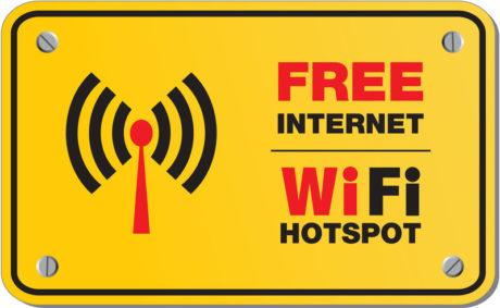 Piazza Marconi, hotspot Wi-Fi gratuito