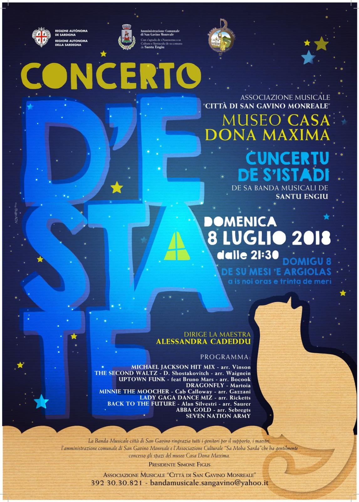 Concerto d'Estate 2018