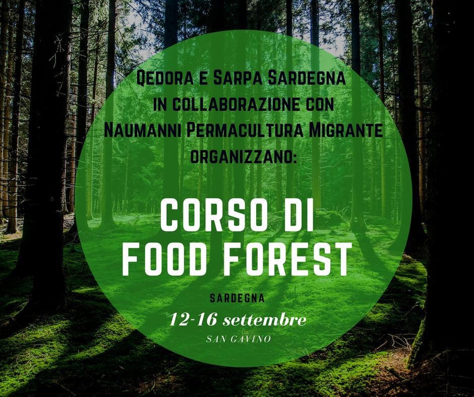 Corso di Food Forest - Sardegna