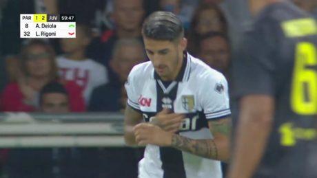 Deiola, esordio al Tardini contro Ronaldo