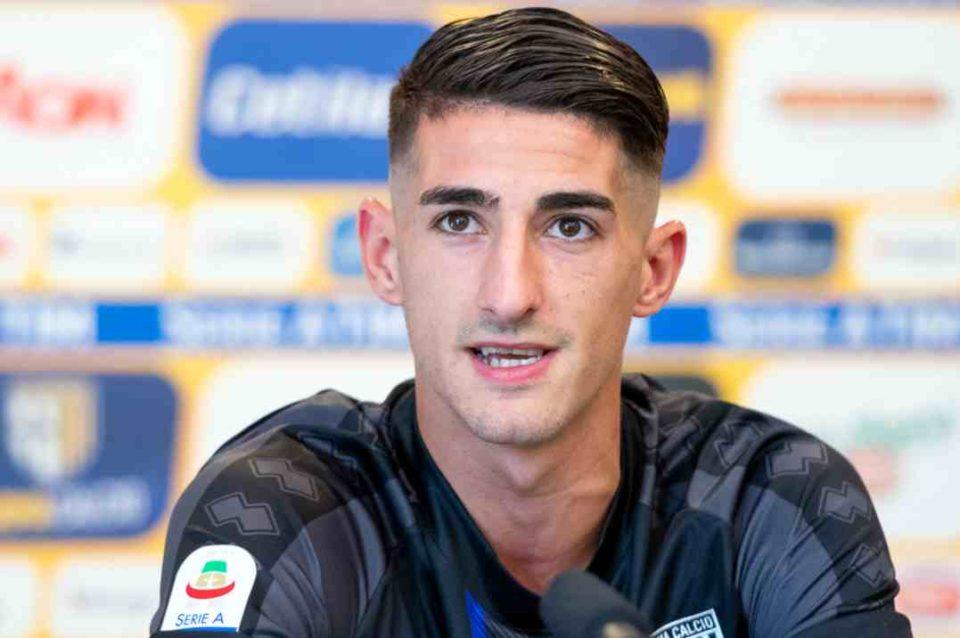 """Alessandro Deiola: """"Contento della fiducia ricevuta dal mister qui a Parma"""""""