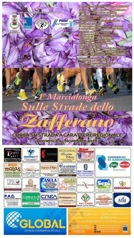 Global sponsor ufficiale della 1° Marcialonga Sulle Strade dello Zafferano