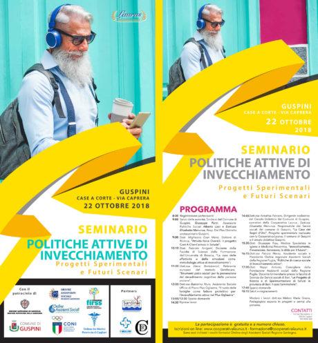 Politiche attive di invecchiamento, seminario regionale a Guspini