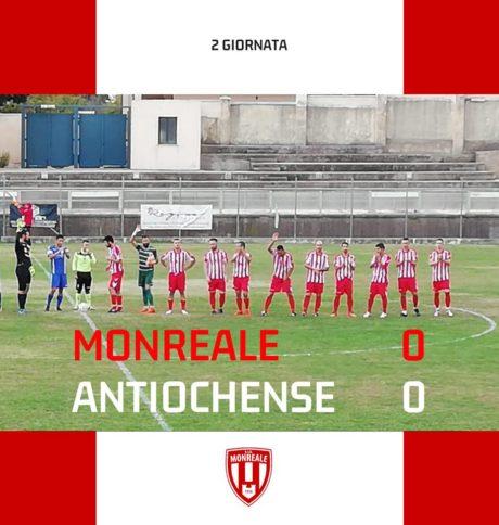 Monreale - Antiochense: 0-0