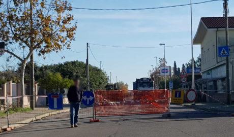 Lavori in corso, via Trento chiusa al traffico