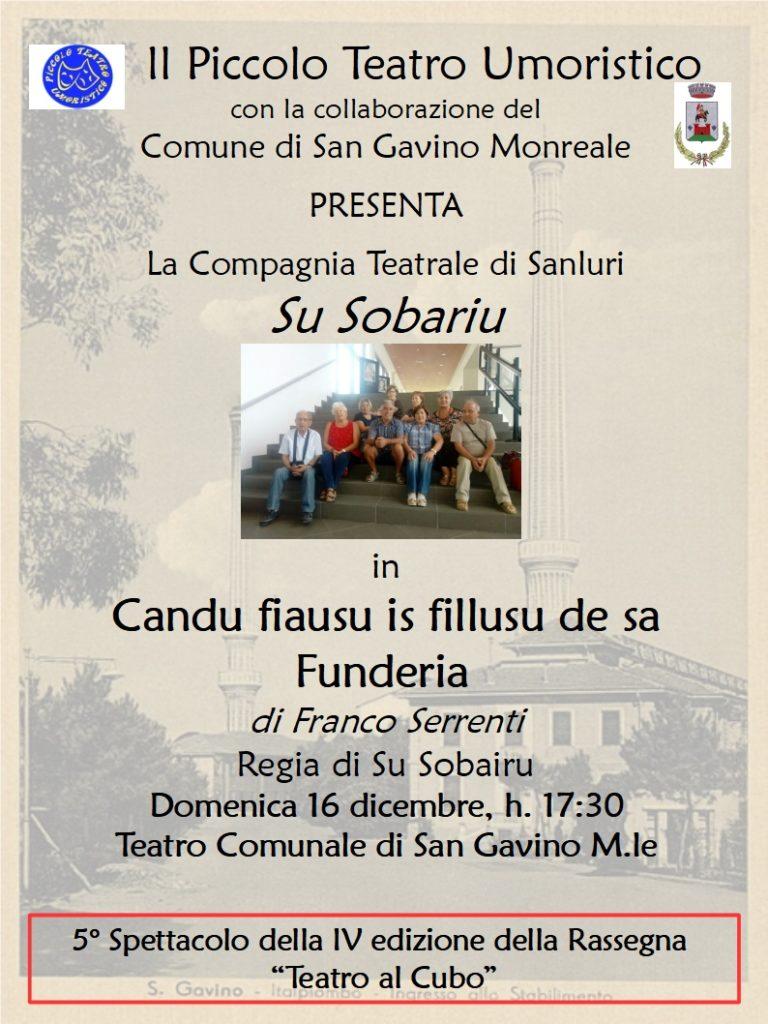 Candu fiasu is fillusu de sa Funderia