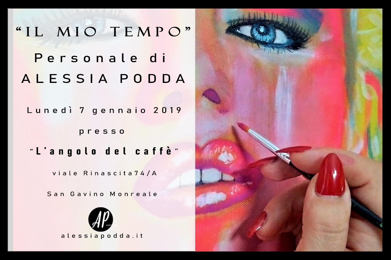 Presentazione delle opere di Alessia Podda