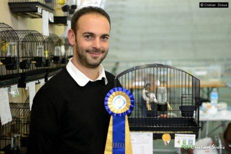 Pier Franco Spada si è laureato vicecampione italiano di ornitologia
