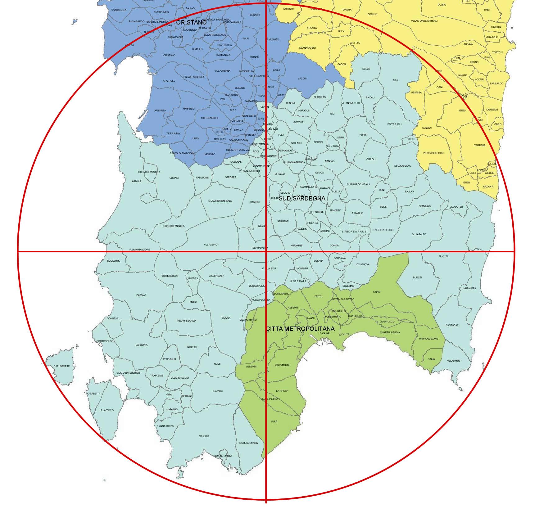Provincia del Sud Sardegna e campanilismo: San Gavino Monreale non sia (ancora) periferia di Sanluri e Villacidro!