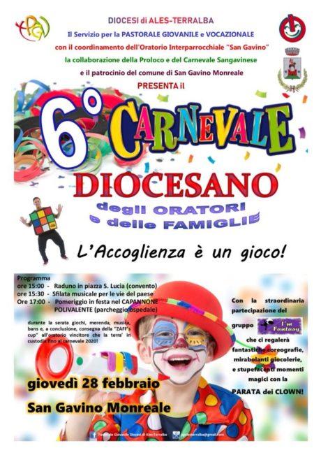 6° Carnevale Diocesano degli Oratori e delle Famiglie