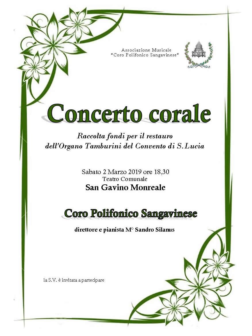 Organo del Convento, un concerto per il restauro