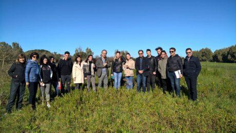 San Gavino Monreale: Assl, studenti e sindaco in perlustrazione nei luoghi dove sorgerà il nuovo ospedale